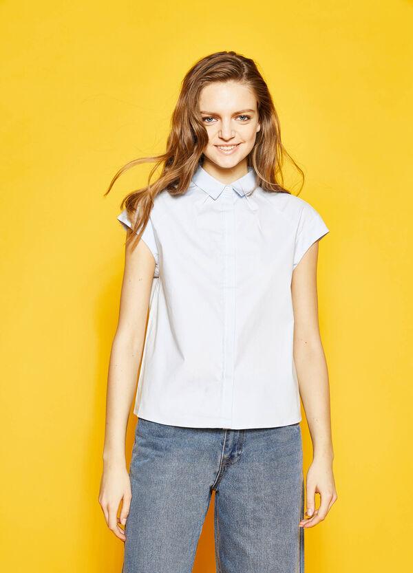 Shirt in stretch cotton | OVS