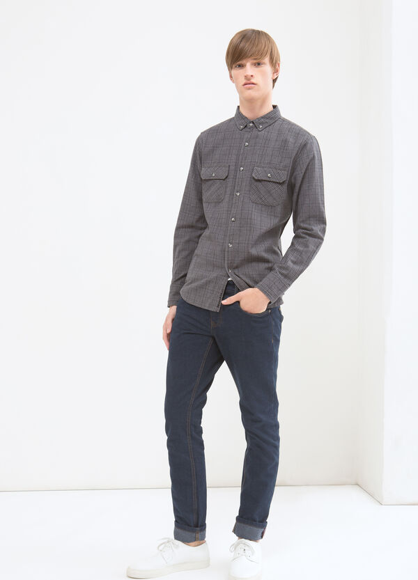 G&H patterned shirt in 100% cotton | OVS