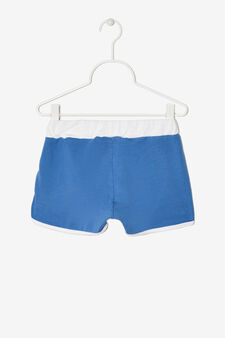 Shorts with contrasting trim., Dark Blue, hi-res
