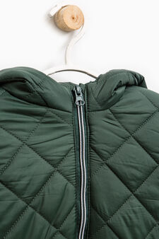 Hooded jacket, Green, hi-res