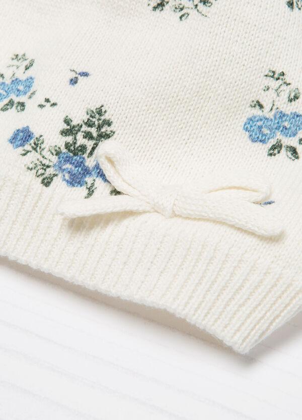Cappello a cuffia tricot fiocchetto | OVS