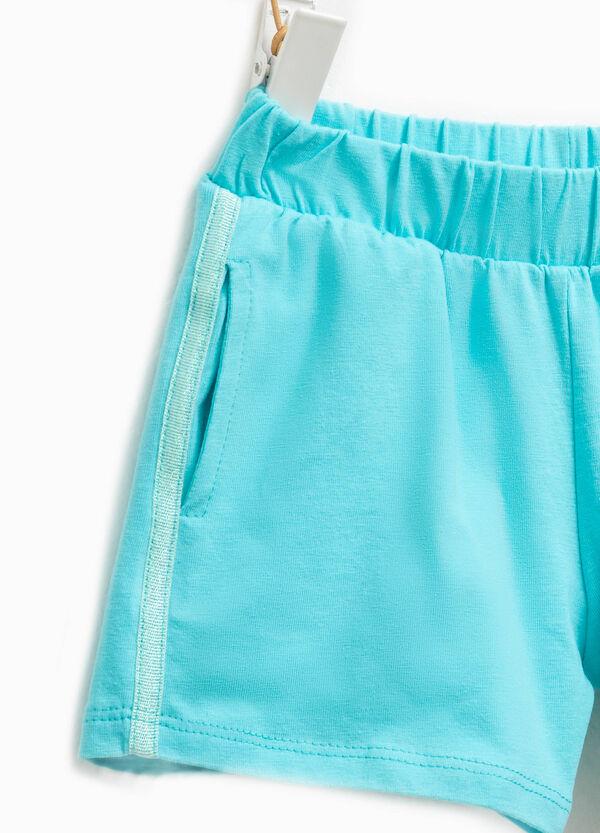 Shorts en algodón elástico | OVS