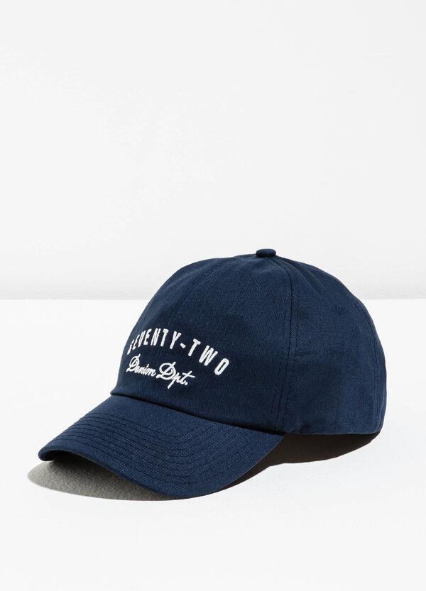 Cappello da baseball con ricami lettering | OVS