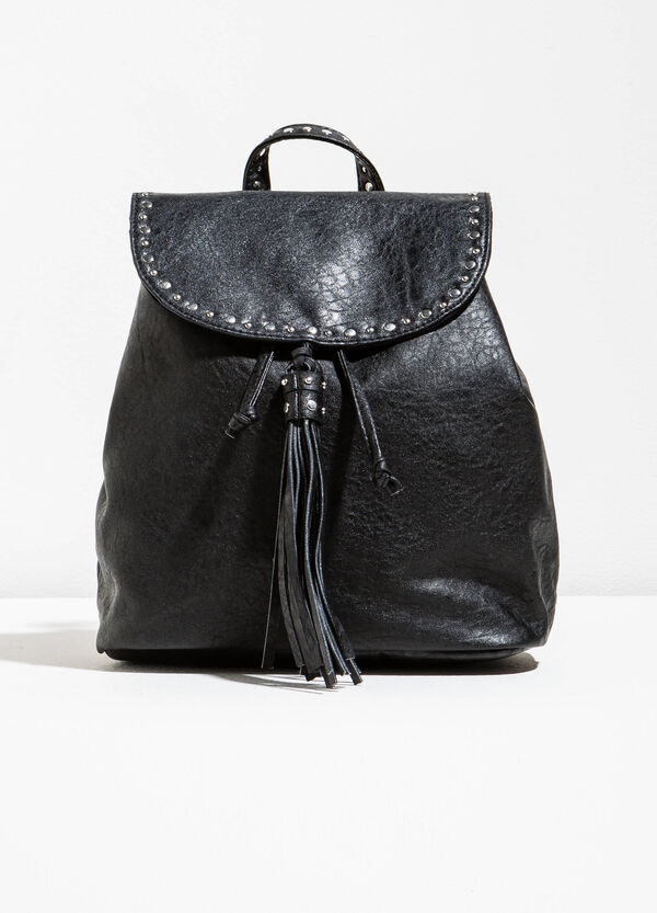 Backpack with studs and tassel | OVS