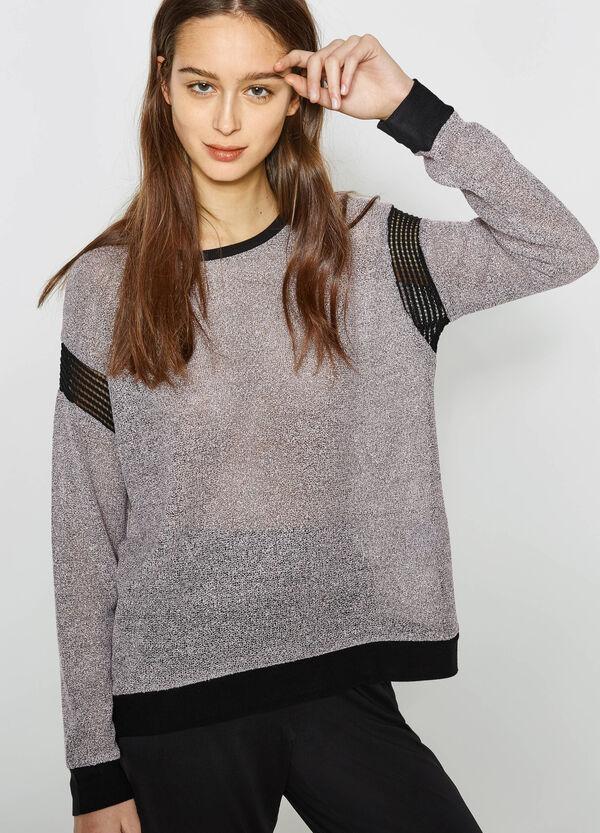 Mélange viscose blend T-shirt | OVS