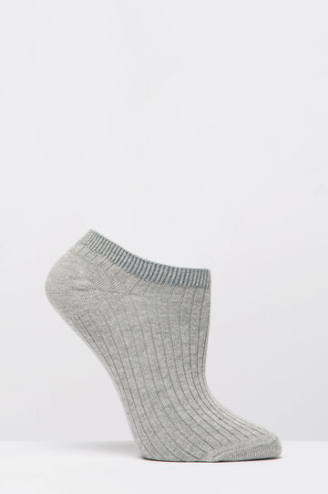 Two-pack stretch socks, Grey, hi-res