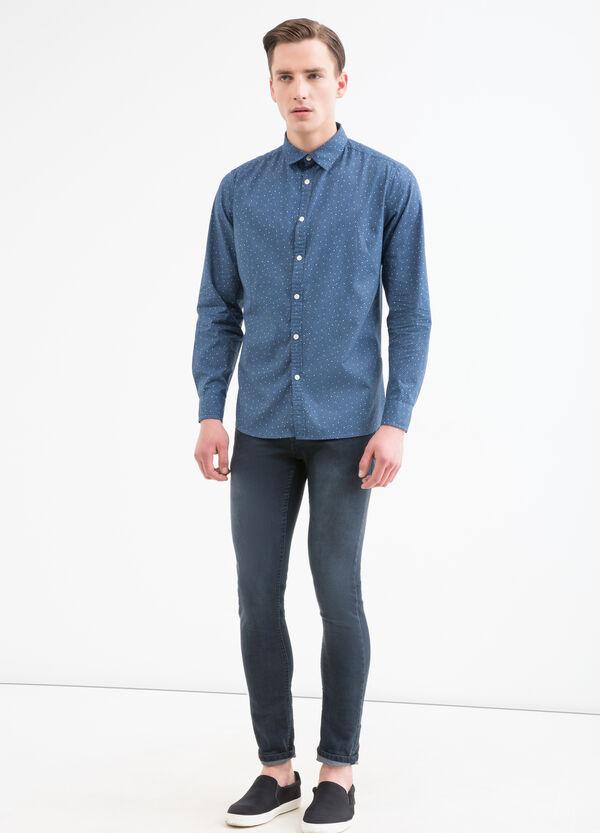 Camicia puro cotone con fantasia | OVS