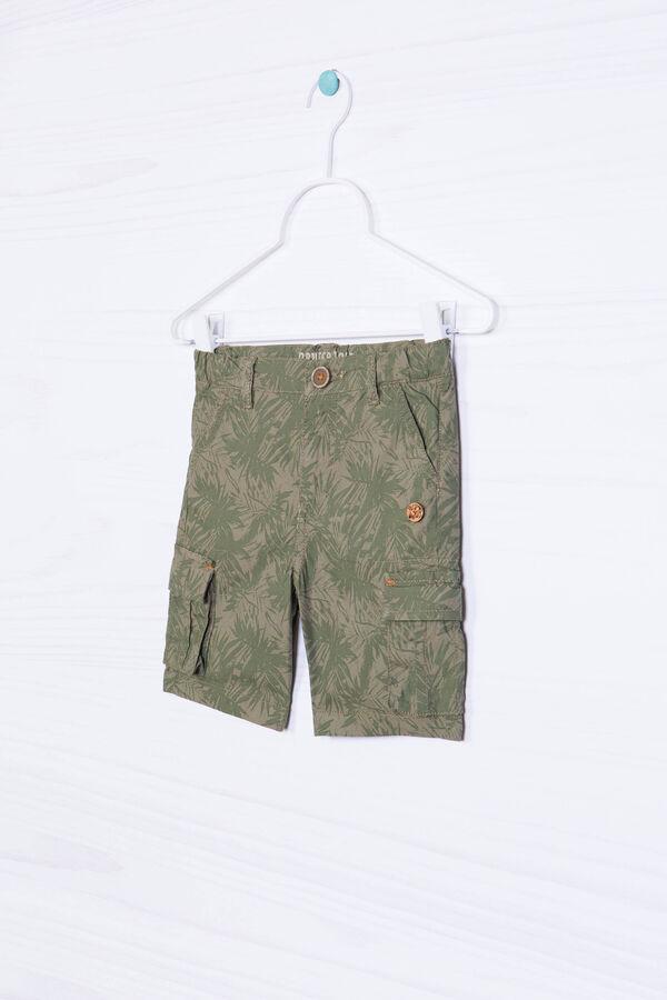 Pantaloni puro cotone con stampa | OVS