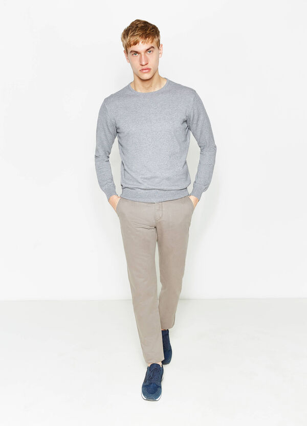 Regular-fit chino trousers | OVS