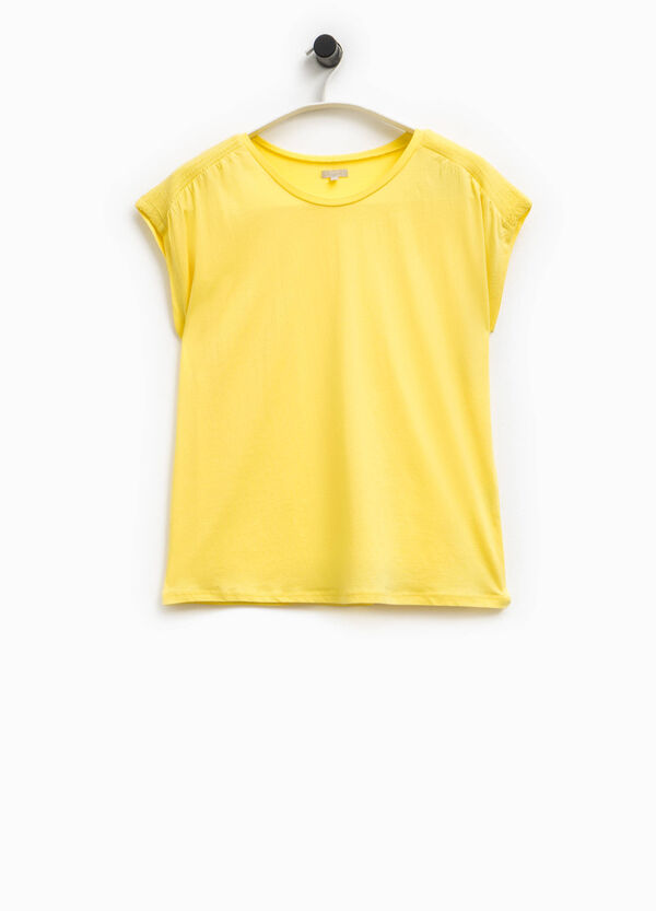 T-shirt maniche ad aletta Smart Basic | OVS