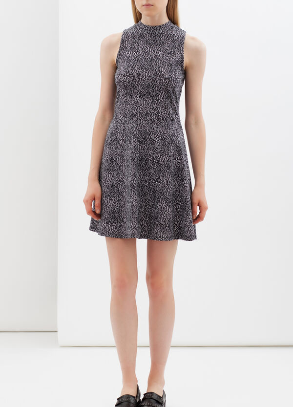 Short dress with back opening | OVS