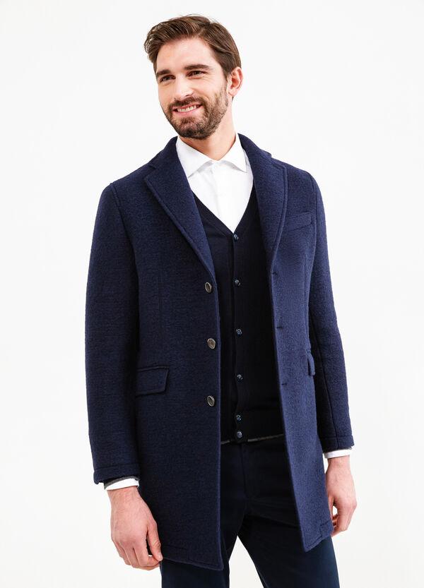 Cappotto in lana con revers Rumford | OVS