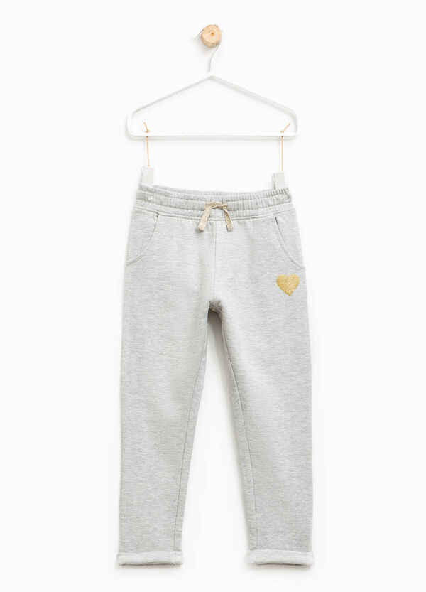 Pantaloni tuta stampa glitterata | OVS