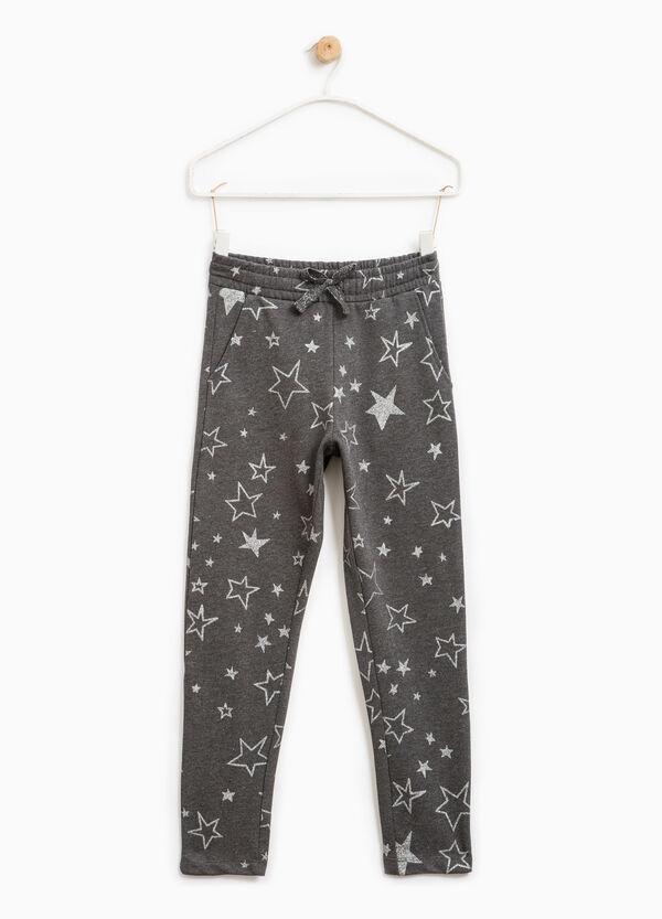 Pantaloni tuta con stelle glitterate | OVS