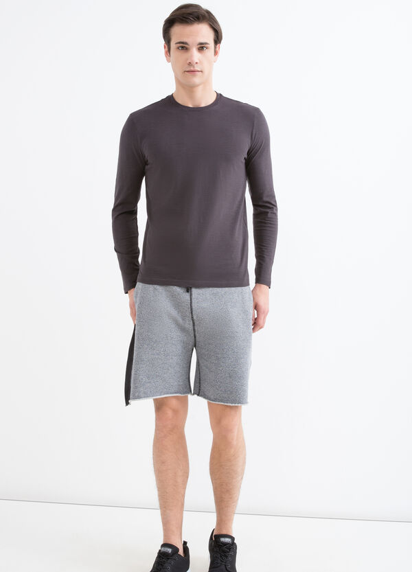 T-shirt girocollo maniche lunghe | OVS