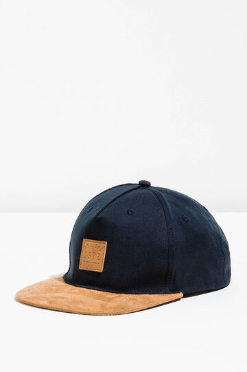 Cappello da baseball in cotone con patch