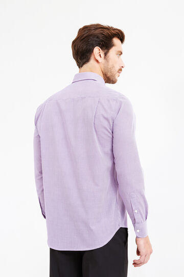 Formal shirt with pocket, Lilac, hi-res
