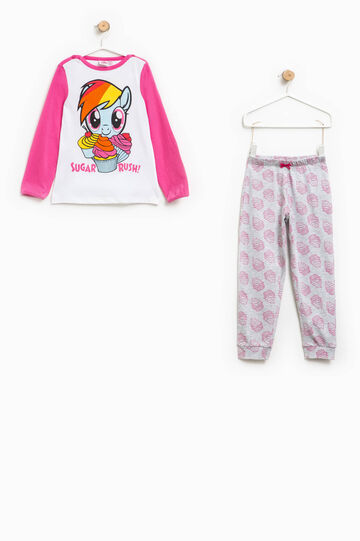 Patterned pyjamas and My Little Pony print