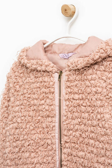 Knitted jacket, Light Pink, hi-res