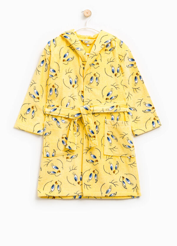 Bathrobe with all-over Tinkerbell print | OVS