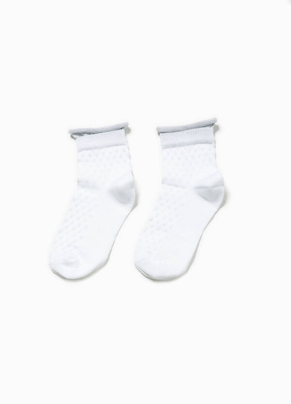 Short socks with diamond weave | OVS
