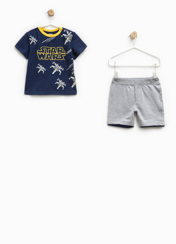 Maxi Star Wars print outfit | OVS
