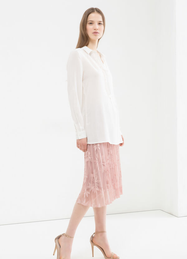100% viscose blouse. | OVS