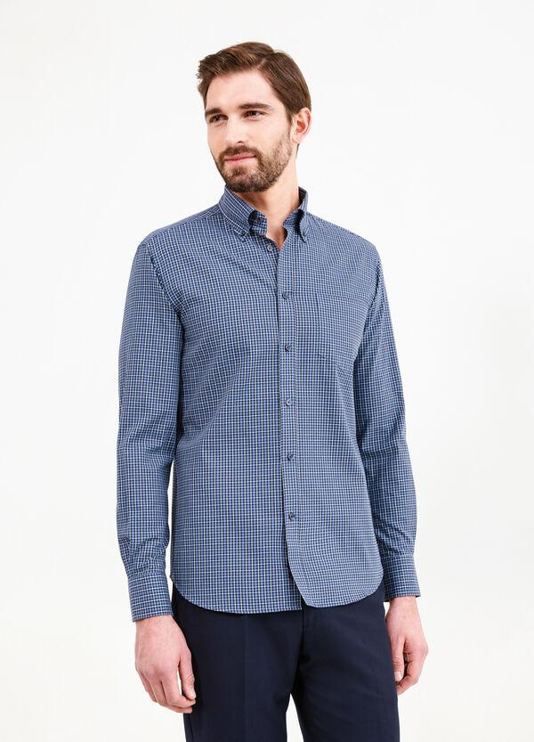 Regular-fit formal checked shirt | OVS