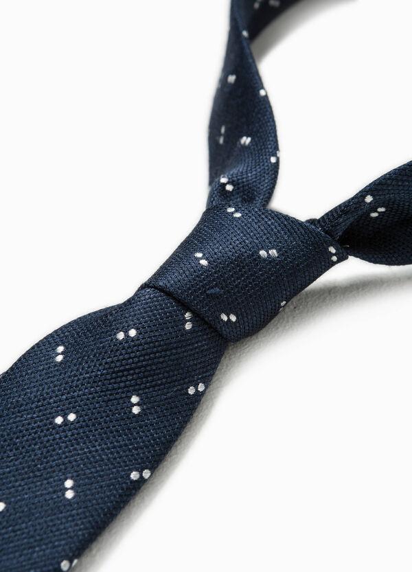 Rumford linen and silk tie   OVS