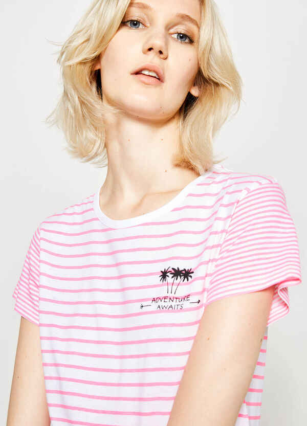 T-shirt in cotone stampata | OVS