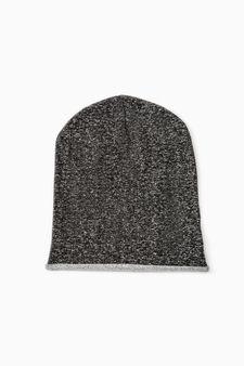 Cappello a cuffia cotone, Nero, hi-res