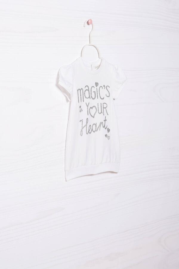 Printed stretch dress | OVS