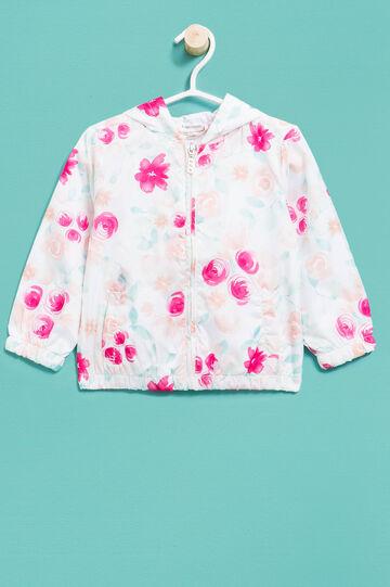 Floral patterned jacket, Multicolour, hi-res