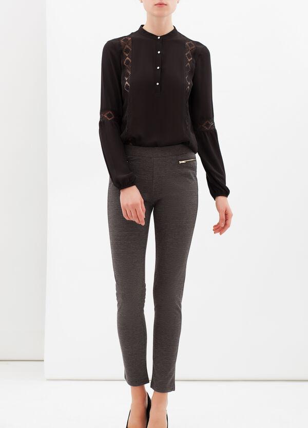 Leggings stretch con zip | OVS