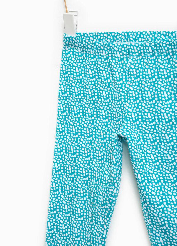 Leggings de algodón con fantasía | OVS