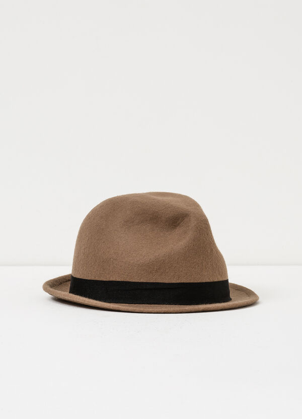 Wool hat with band | OVS