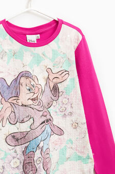 Seven Dwarves T-shirt with sequins, Fuchsia, hi-res