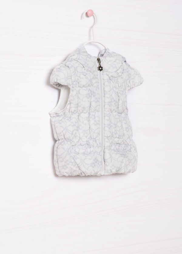 Waistcoat with floral pattern | OVS