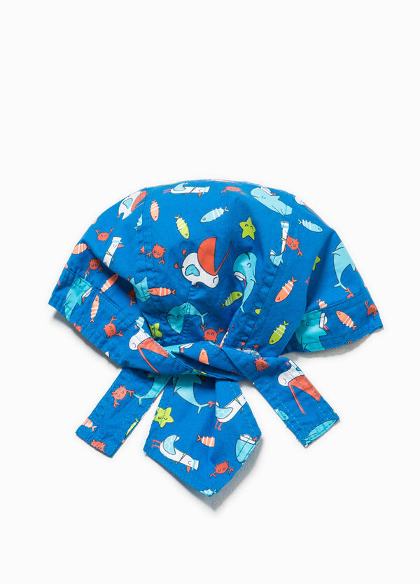 Cotton bandana with animal pattern | OVS
