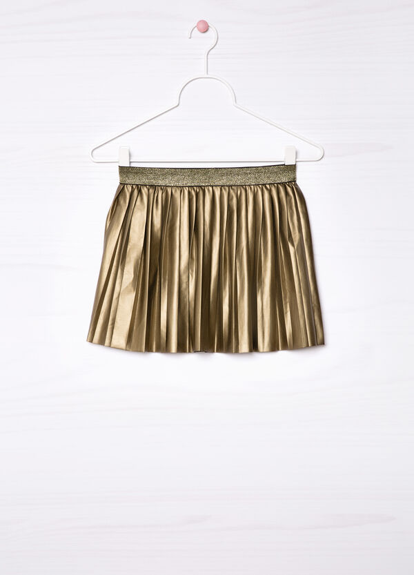 Stretch pleated skirt | OVS