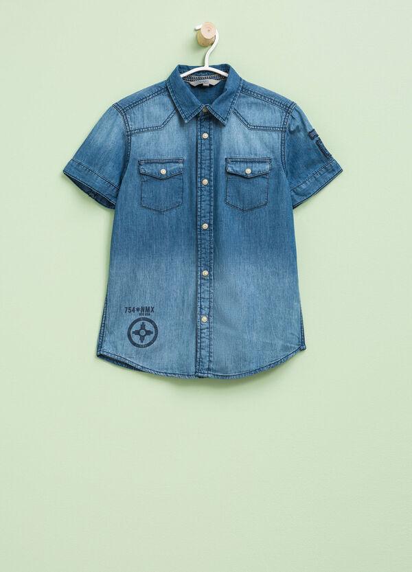 Camicia di jeans maniche corte | OVS