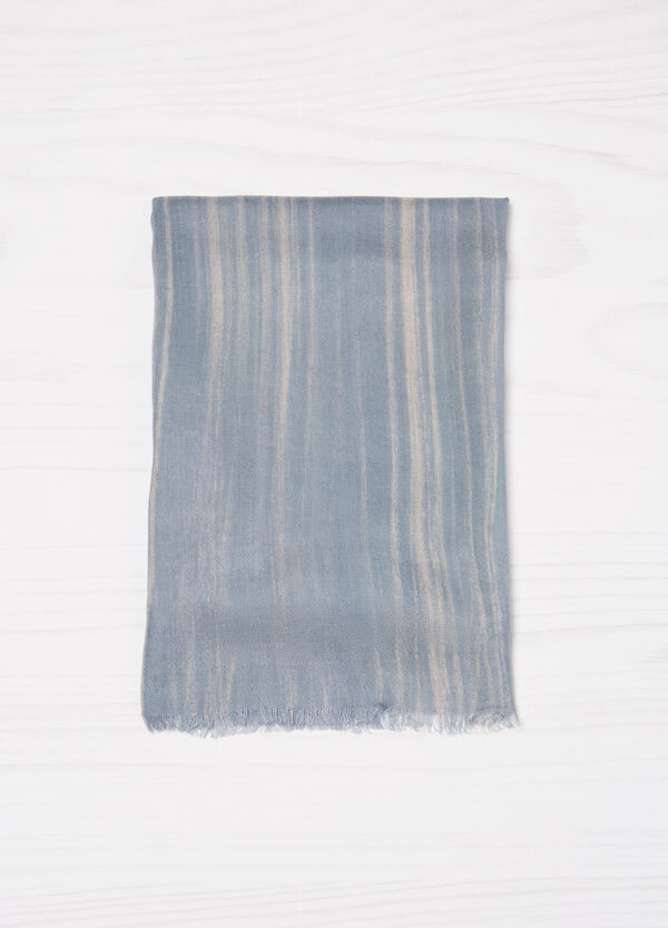 Striped pattern viscose pashmina | OVS