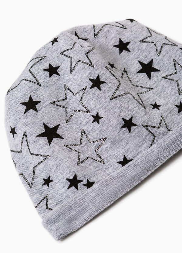 Beanie cap with printed stars | OVS
