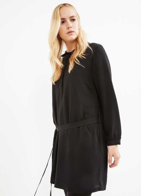 Curvy stretch dress with laces | OVS