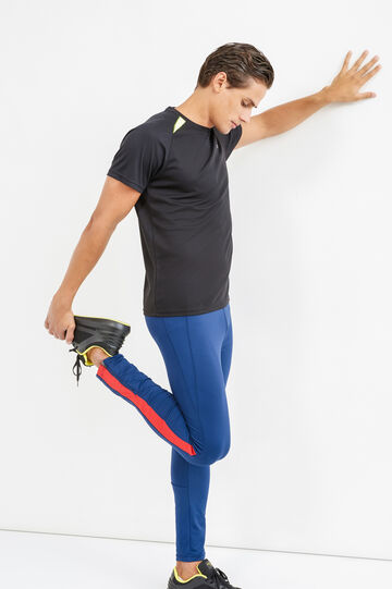 Pantaloni OVS Active Sport Training, Blu navy, hi-res