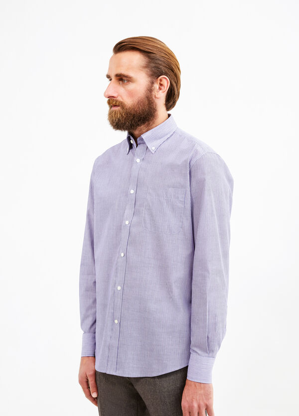 Cotton formal shirt with regular fit | OVS