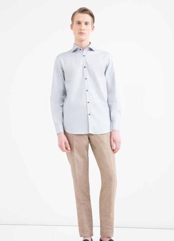Camicia regular fit fantasia | OVS