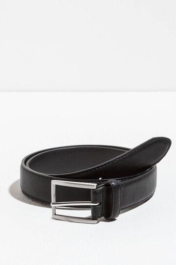 Cintura passante singolo con fibbia lucida