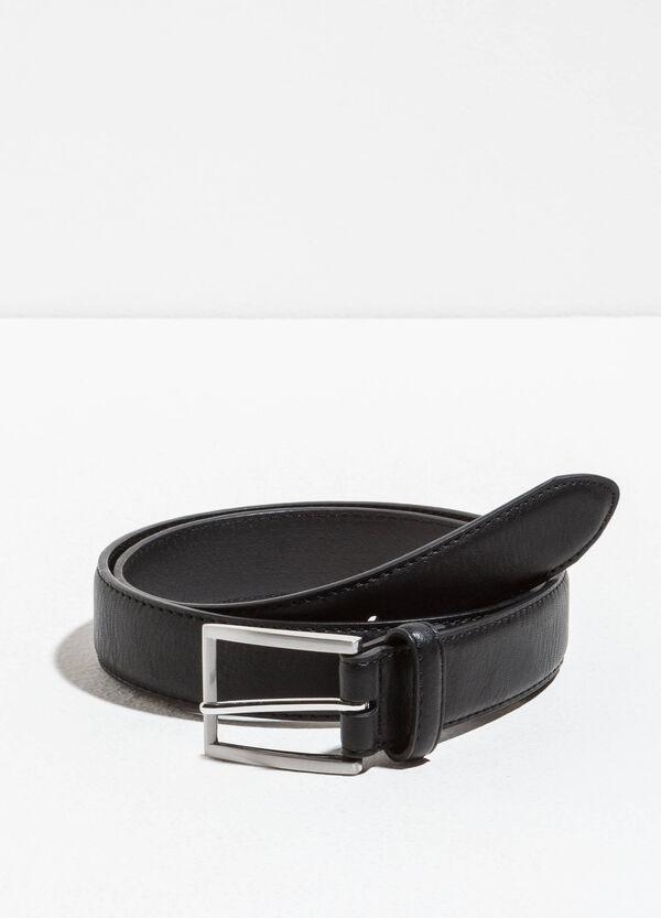 Cintura passante singolo con fibbia lucida | OVS
