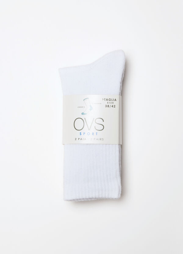 Two-pack plain socks | OVS